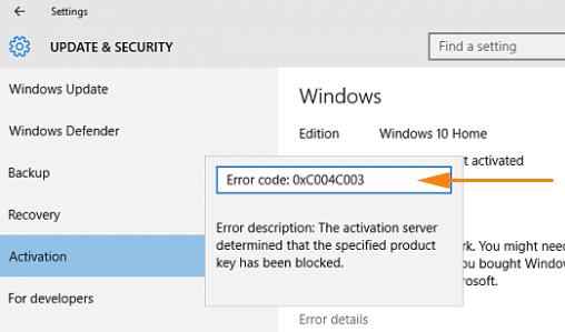 Как исправить ошибку 0x803f7001 в Windows 10