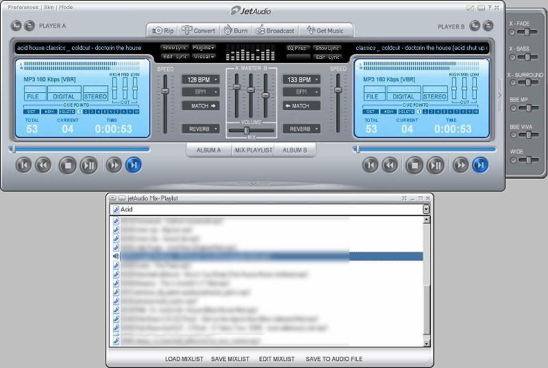 Jet Audio Player
